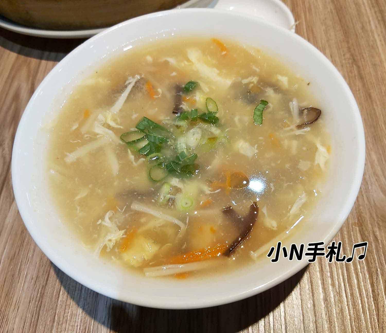 一鋒杭麵食館酸辣湯
