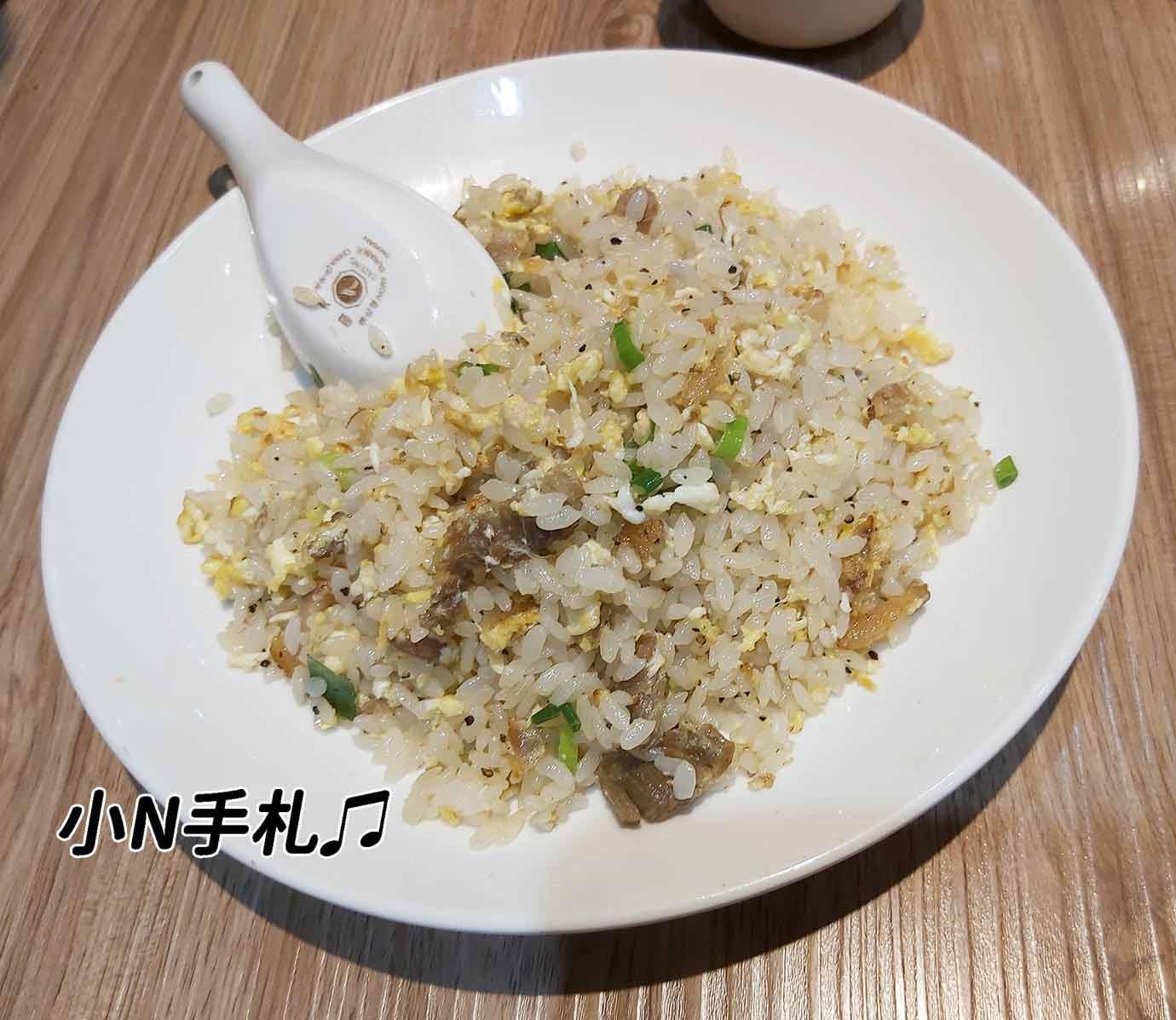 一鋒杭麵食館鹹豬肉炒飯