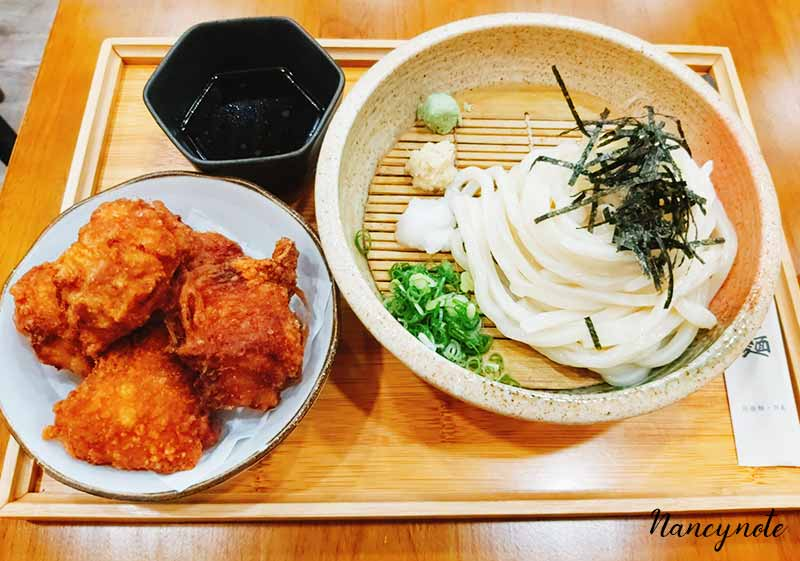 光川製麵-唐揚雞竹簍沾麵
