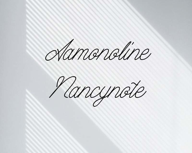 free font Aamonoline