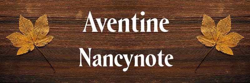 免費可商用英文字體free font Aventine