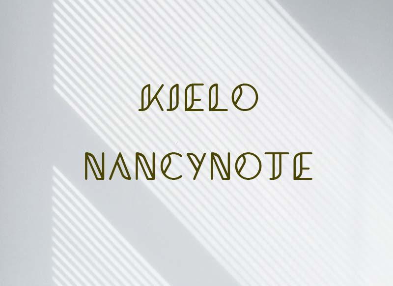 免費可商用英文字體free font Kielo