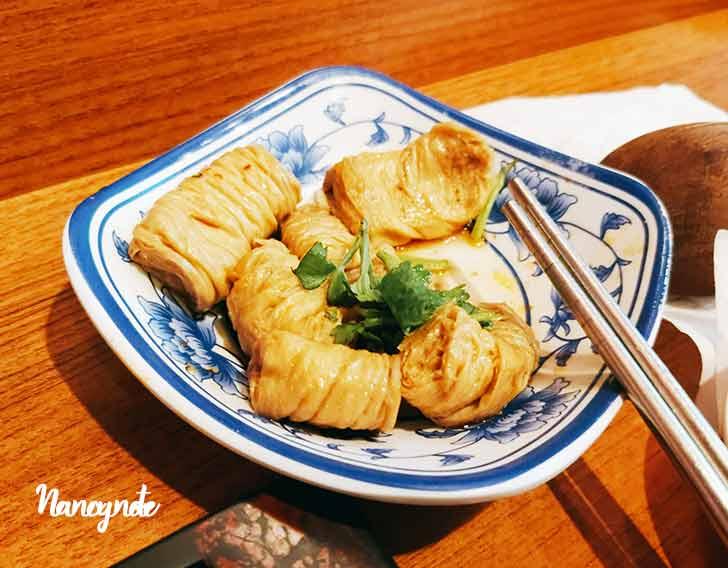 匠骰子牛麻辣麵-招待小菜
