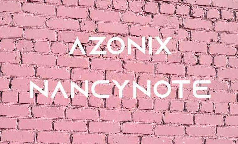 免費可商用英文字體free font Azonix