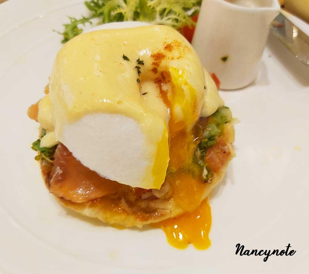 woosa屋莎鬆餅屋-早午餐 煙燻鮭魚班尼迪克蛋