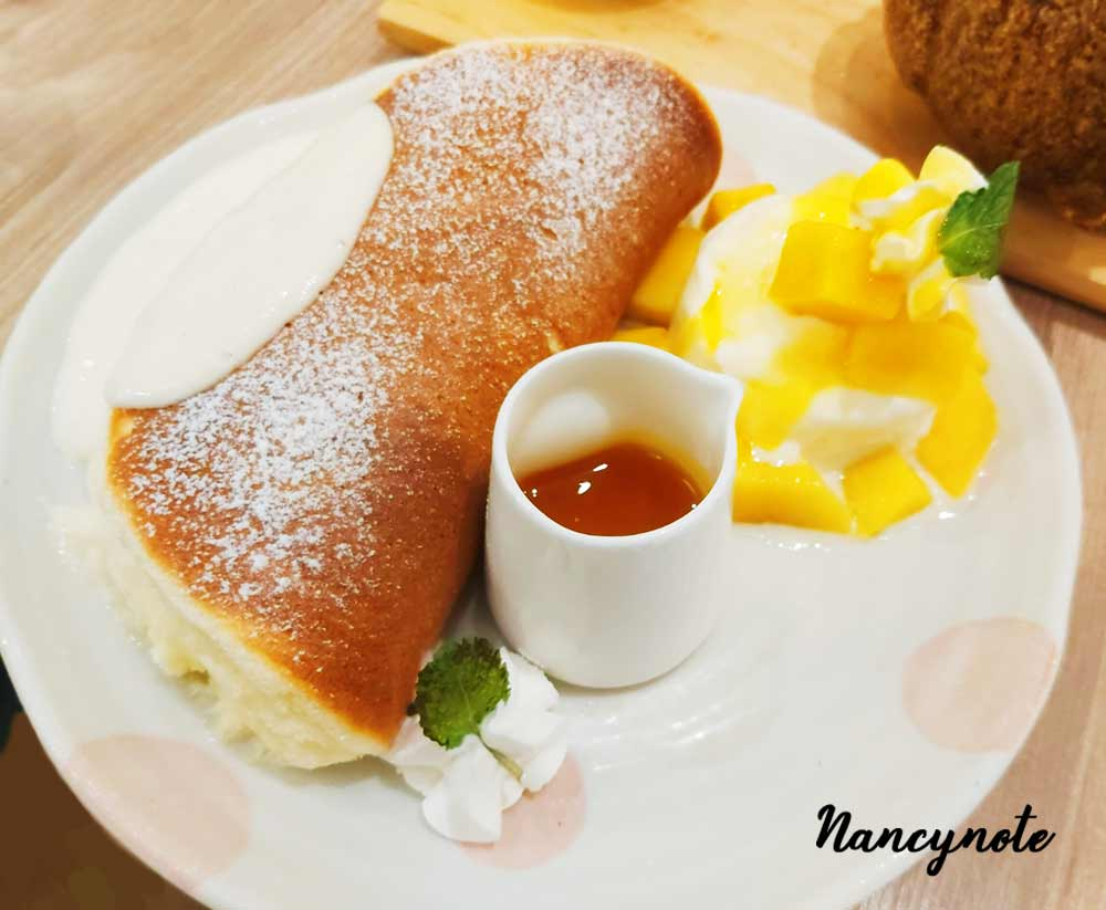 woosa屋莎鬆餅屋-芒果冰淇淋鬆餅