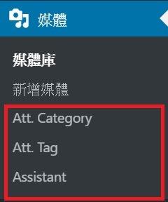 圖片分類外掛-media library assistant