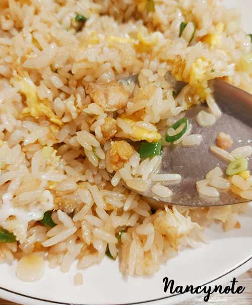 晴粵軒-鹹魚雞粒炒飯