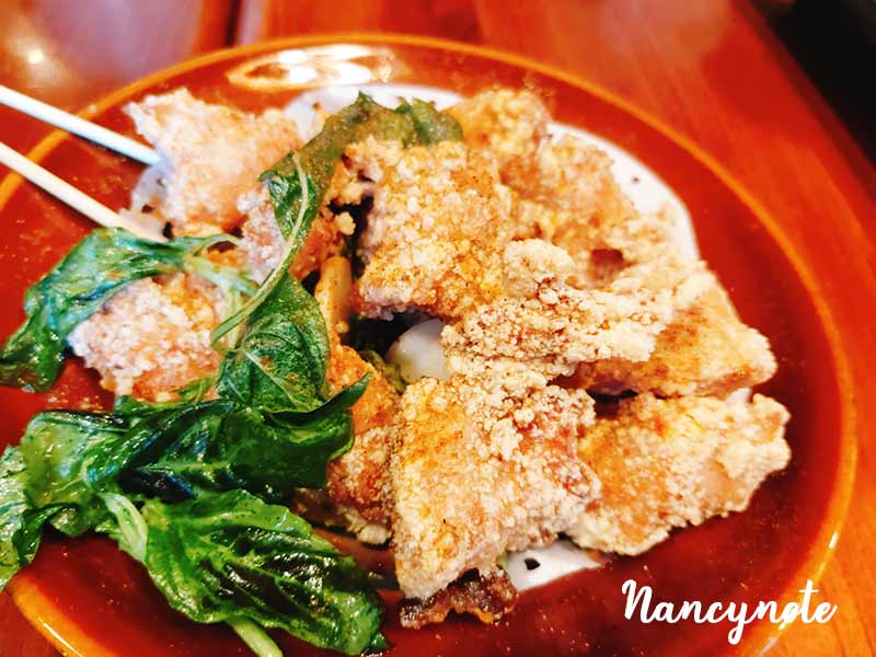 茶自點-塔香鹹酥雞