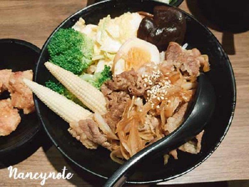 牛肉丼 1