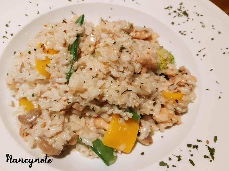 nini尼尼義大利餐廳-煙燻鮭魚奶油燉飯