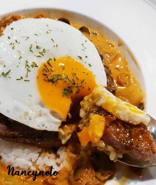 恰好食-夏威夷熔岩漢堡排風味飯