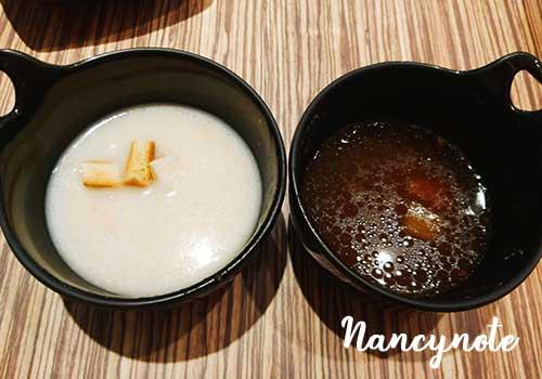 樂牛排-玉米濃湯-牛骨蔬菜湯
