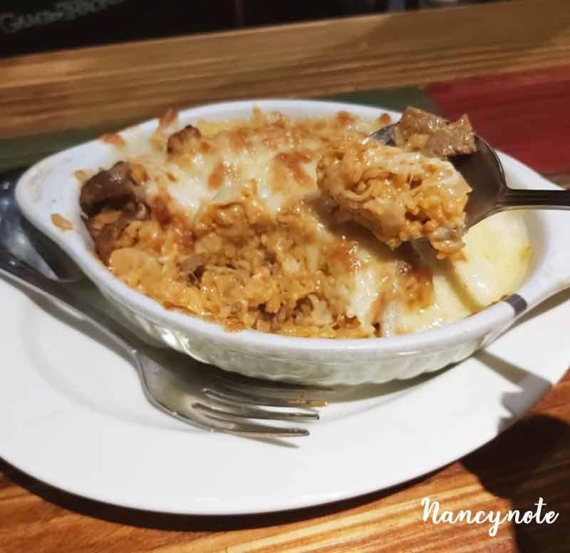 紅坊義式廚房-焗烤西班牙牛肉焗飯