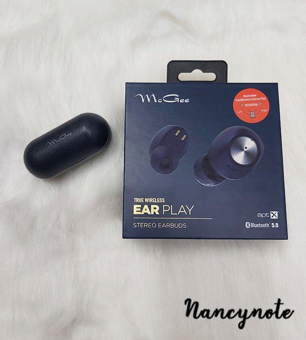 McGee藍芽耳機包裝